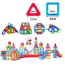 50 stücke Große Größe Magnetische Designer Magnet Bausteine Ferris Zubehör Pädagogisches konstruktor Spielzeug Für Kinder