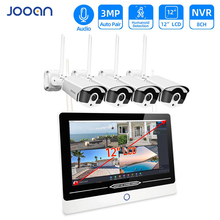 Security-Camera-System Jooan Outdoor System-Set 12--Monitor 8CH 3MP with for 1536P