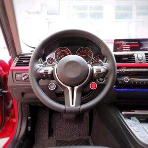 Image 3 - Direksiyon düğmeler BMW F10 F11 F30 F32 F15 F25 motor push start stop butonu kontak başlatma anahtarı spor modu kontrol