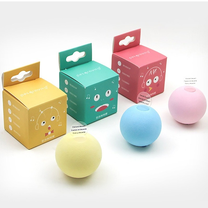 Smart Cat Toys Interactive Ball Catnip Cat Training Toy Pet Playing Ball Pet Squeaky Supplies Products Toy For Cats Kitten