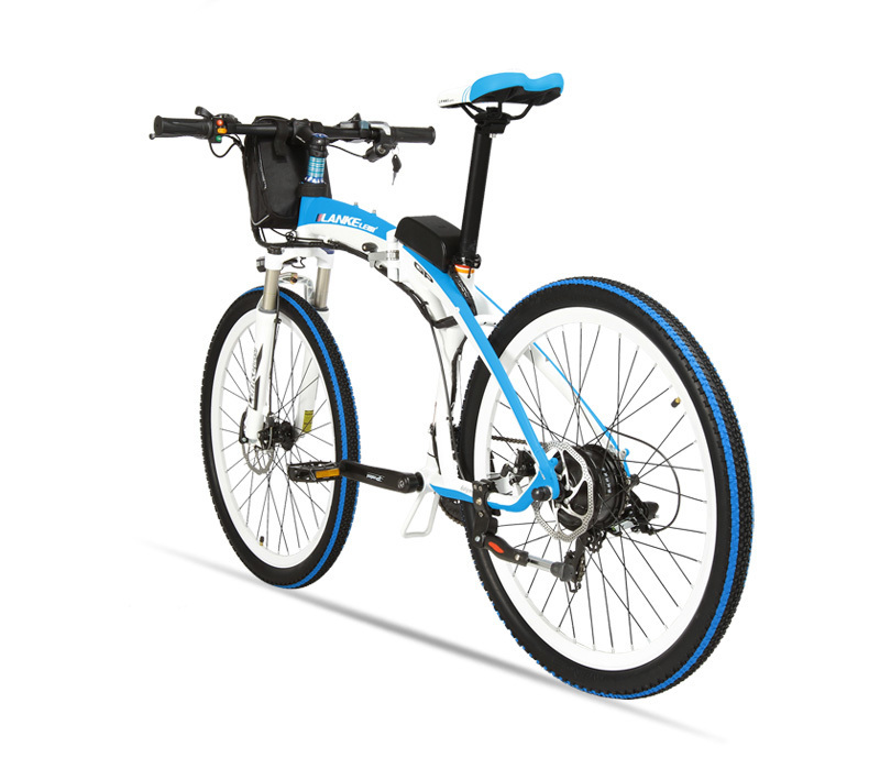 Lankeleisi 189.47 electric bicycle, folding bicycle, 26 inches, 36/48 V, 240 W, disk brake, fast folding, mountain 30