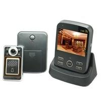 KiVOS Digital Door Eye Peephole Door Viewer Wireless Video Doorbell Wide Angle Lens Camera Monitor For Home Apartment