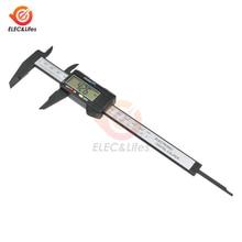 Compass Ruler Caliper Digital Measuring-Tool Micrometer Carbon-Fiber 0-6inch 150mm Electronic