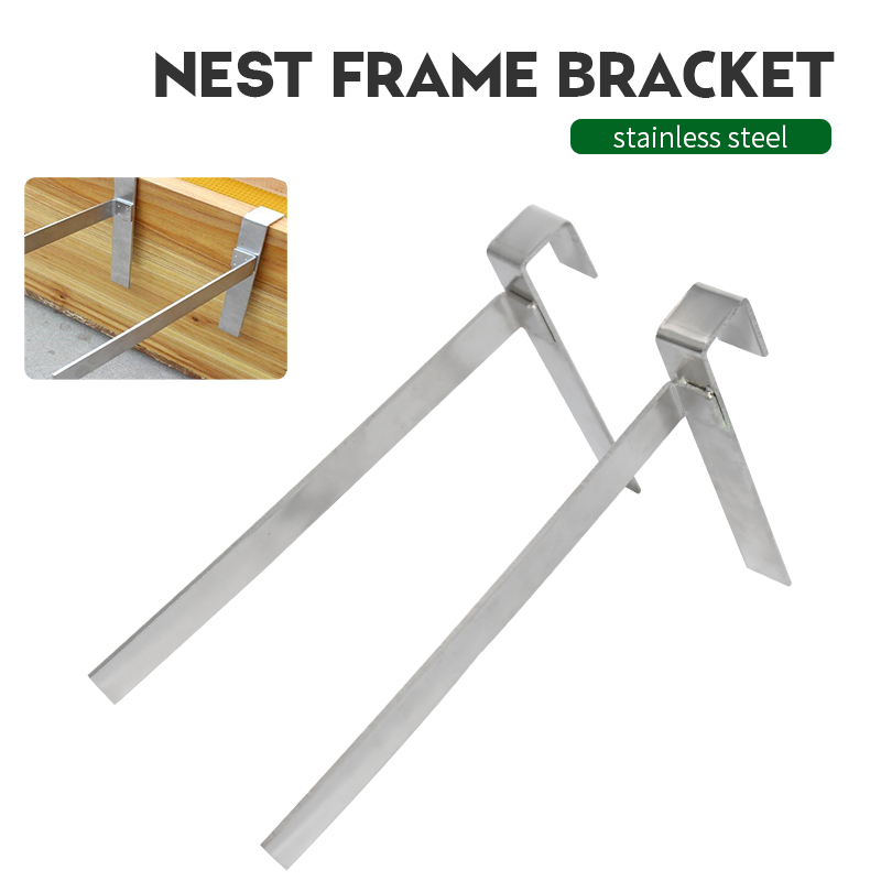Brand Stainless Steel Beekeeping Frame Holder Bee Hive Perch Durable Equipment Kit Home Garden Tool Suitable For Supplies Tools