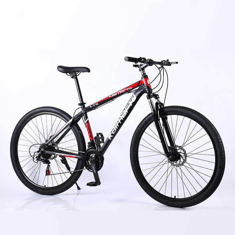 29 inç dağ bisikleti 21/24/27 hız mtb ultralight alüminyum alaşım bisiklet çift disk fren bisiklet açık spor dağ bisikleti
