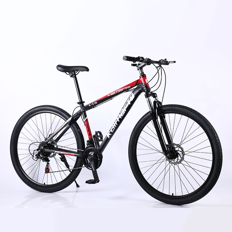 29 Inch 21/24/27 Variable Speed Double Disc Brake Mountain Bike Aluminum Alloy Frame Adult Student Mountain Bicycle