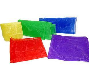 Orff Gauze Kerchief, Children Game Silk Scarves, Dance Ribbon, Orff Props Game Gauze Kerchief