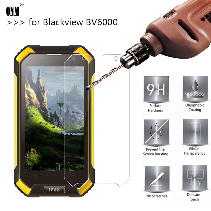 2.5D 0.26mm 9H Premium Tempered Glass For Blackview BV6000 Screen Protector Toughened Protective Film For Blackview BV6000S
