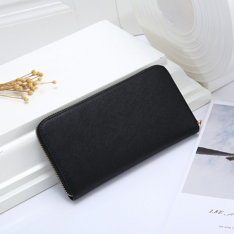 New Long Zipper Woman Wallet Female Medium And Long Wallet