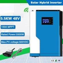 Высокочастотный 5500va/5500w 230vac солнечный инвертор немодулированного