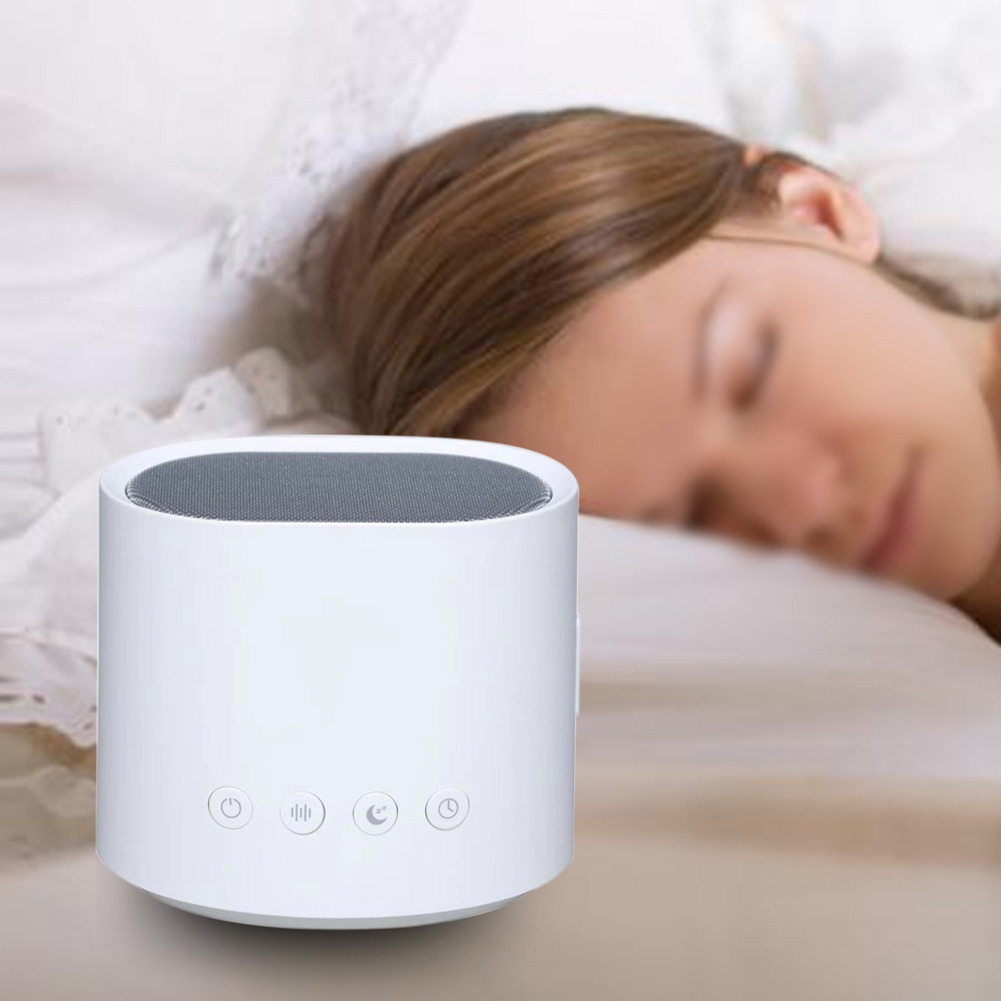 Sleep Sound Machine Portable Office Relaxing USB Charging Timing Helper For Kids Travel Mini Adults Home White Noise Music