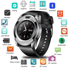 LIGE New Smart Watch Clock Sim Card Slot Push Mess