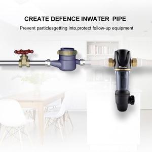 Image 2 - Wheelton Pre Water filter mechanical backwashing protect appliance(reverse osmosis water purifier,heater,etc.) 40UM purification
