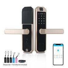 Smart Thumbprint Door Lock with App Controlling