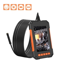 Lcd-Display Endoscope-Camera 8leds-Inspection Handheld Waterproof 2/5/10-meters Screen