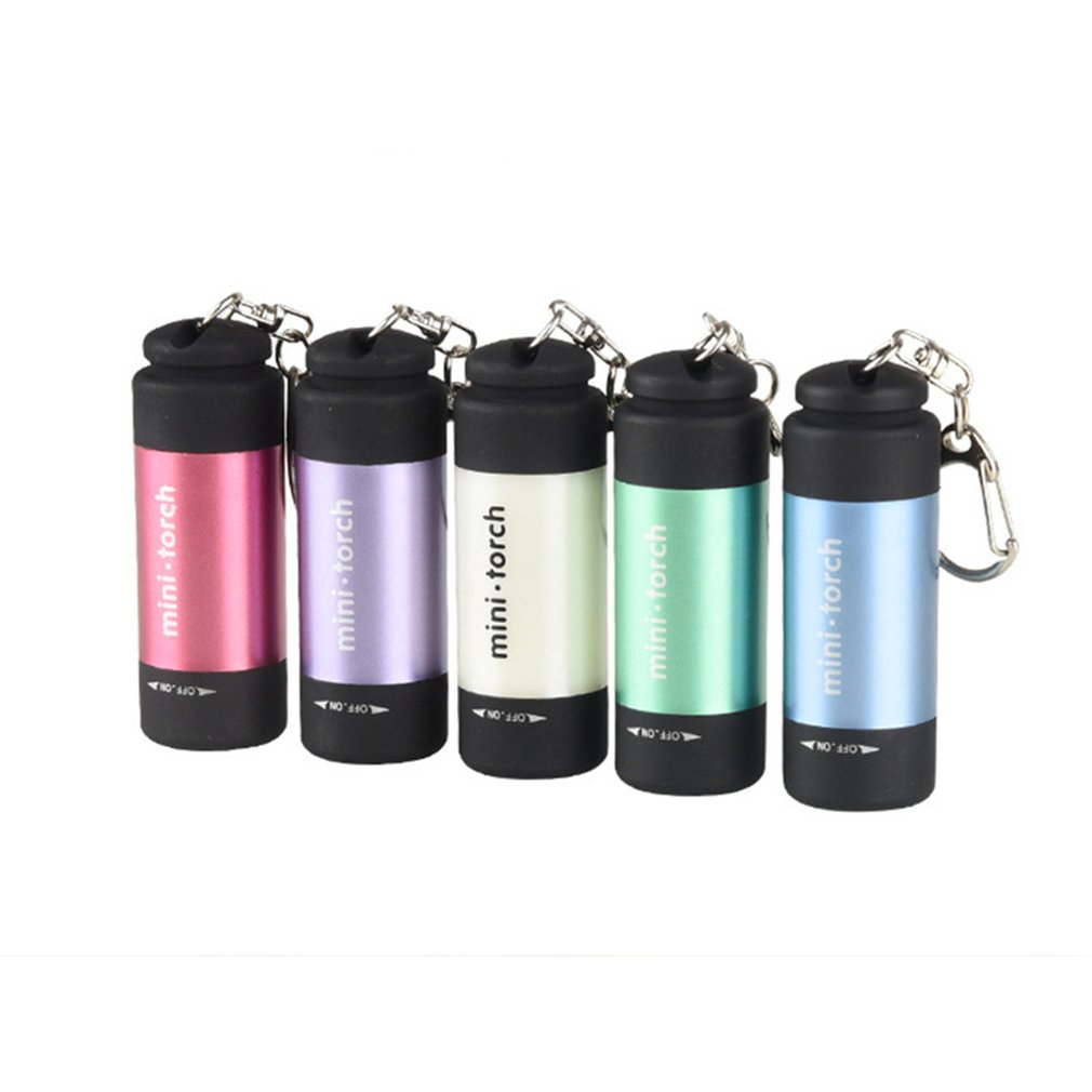 Pocket Waterproof USB Mini Flashlights Handheld LED Flashlight Super Bright Pocket Work Light For Emergency Camping