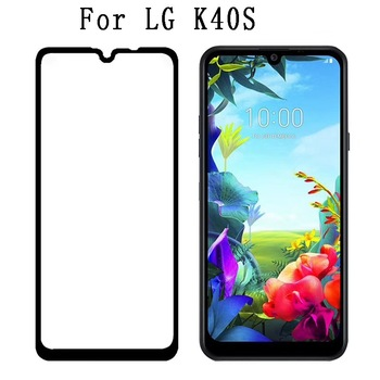 Перейти на Алиэкспресс и купить Полное покрытие, защита экрана, закаленное стекло для LG K40S, полный клей, закаленное защитное стекло для LG X6 Escape Plus K30 2019 Stylo 5