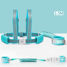 New Design 2 in 1 Toddler Anti Lost Safety Wrist Link Add Lock Kids Walking Shoulder Strap Wristband Baby Harness Safety Leash цена и фото