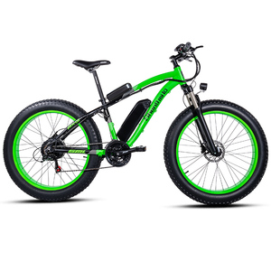 Image 3 - Electric bike 26*4.0inch Aluminum  electric Bicycle 48V17A 1000W 40KM/H 6Speed Powerful Fat Tire bike Mountain snow ebike