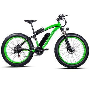 Image 3 - Elektrische fiets 26*4.0inch Aluminium elektrische Fiets 48V17A 1000W 40 KM/H 6Speed Krachtige Fat Tire bike berg sneeuw ebike