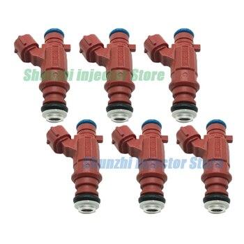 6pcs Fuel Injector Nozzle For Nissan Sentra 00-02 1.8 0280155937  FBJB-100 0 280 155 937 FBJB100