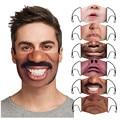 С принтом «Улыбка» из маска с карманами, одежда в стиле унисекс, Забавный 3d маски для взрослых женщин уход за кожей для взрослых защиты Mouthmask ...
