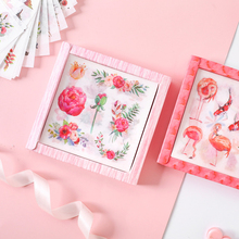 20pcs/lot Lovely Literary small fresh Paper Lable Sealing Stickers Crafts Scrapbooking Decorative DIY Stationery