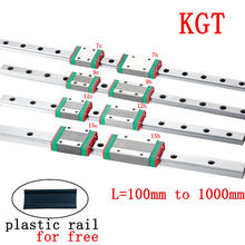 Linear Guide MGN7 MGN12 MGN15 MGN9 Block 30mm to 1500mm Rail Carriage Cnc 3d Printer Part Miniature Bearings linear rail router