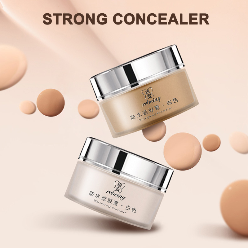 Hot Sale Tattoo Concealer 2-Colored Toned Waterproof Cover Scar Birthmarks Cream Makeup