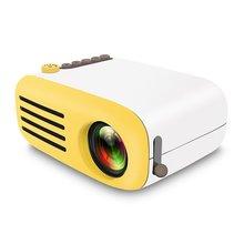 Горячая Распродажа мини-проектор Yg200 домашний портативный светодиодный проектор поддерживает Hd 1080P маленький прожектор 20-60 дюймов Размер проекции