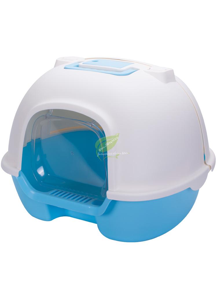 Indoor Cat Sandbox Kitten Litter Box Closed Tray Toilet Bedding Training Detachable Bedpan Pet Accessories