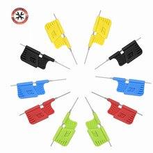 10pcs/set High Quality micro IC clamp SOP/SOIC/TSSOP/TSOP/SSOP/MSOP/PLCC QFP SMD IC Chip pin CLIP DIP mini chip clip