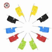 10 unids/set alta calidad micro IC abrazadera/SOP/SOIC/TSSOP/TSOP/SSOP/MSOP/PLCC QFP SMD IC clavija de Chip CLIP DIP chip en miniatura clip