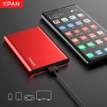 """KPAN N1  2.5"""" HDD External Hard Drive 500GB Storage Shockproof Portable Hard Disk Metal Silm 4 Color"""