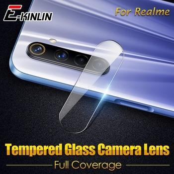 Перейти на Алиэкспресс и купить Закаленное стекло для задней камеры Realme 6 6i 6S 5i 5s 5 3i 3 Pro Q X3 Super Zoom X50m X50 X2 XT X Lite Защитная пленка для экрана