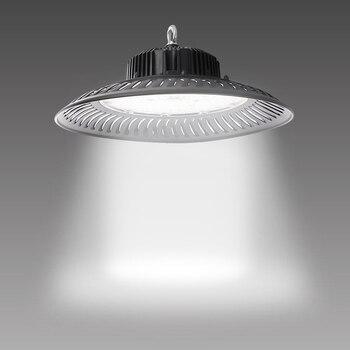 50w 100w 150w 200w profesional LED de alta Bahía lámpara 220v luz diurna Iluminación comercial industrial para Taller de almacén