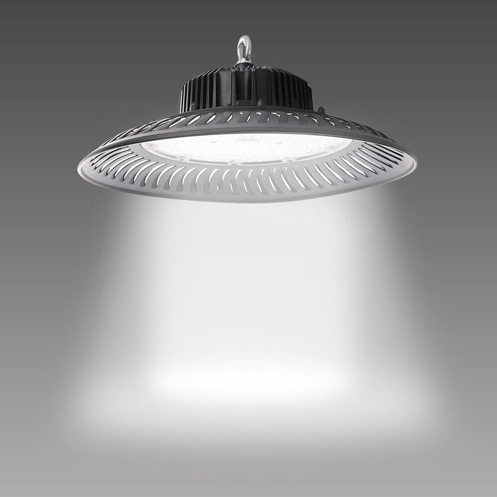 50w 100w 150w 200w profissional conduziu o dispositivo elétrico claro alto da baía 220v iluminação comercial industrial do dia para a oficina do armazém