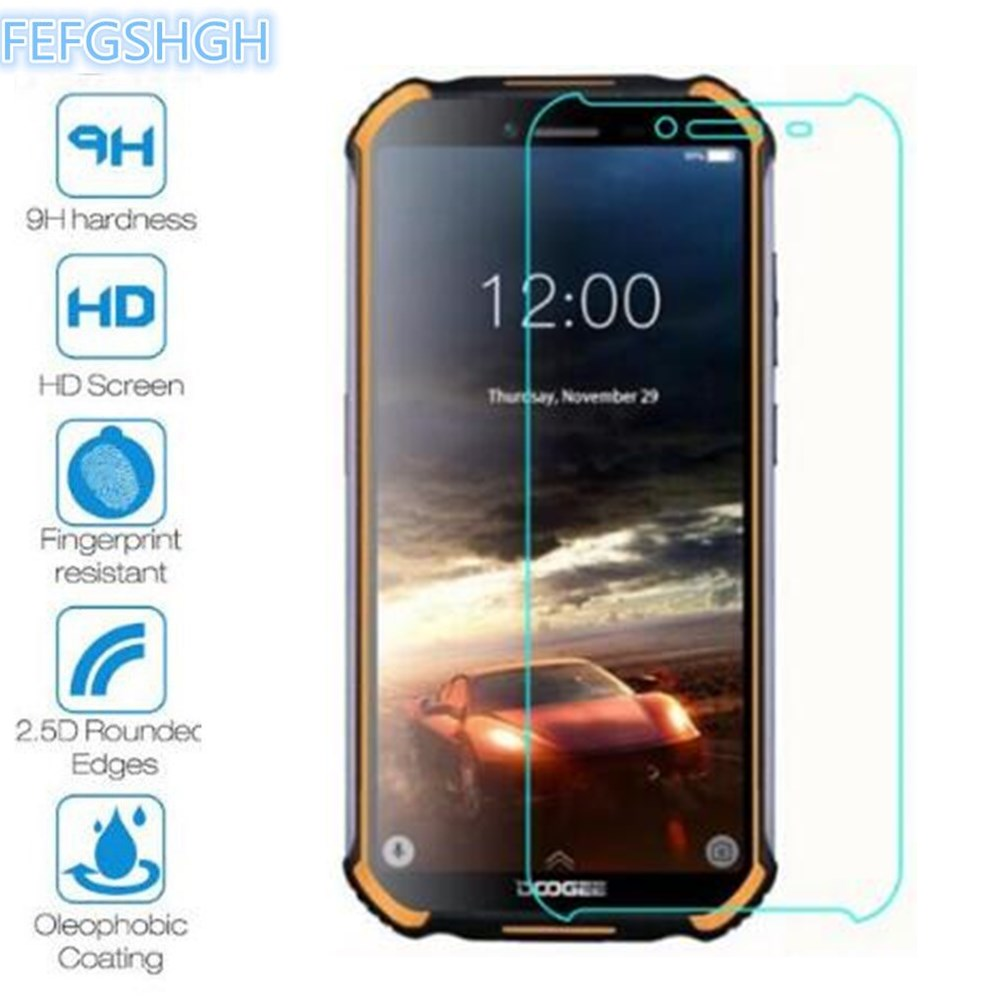 2PCS Tempered Glass For Doogee S40 Explosion Proof Screen Protector For Doogee S40 Protective Film Glass