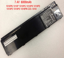 7.4 В 44Wh 6000mAh новый оригинальный С22-1018 аккумулятор для ноутбука ASUS Ээо PC 1018P 1018PB 1018PN 1018PG 1018PD 1018PE