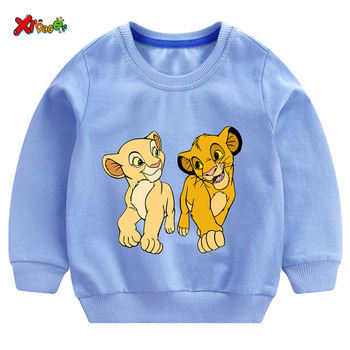 цена на kids hoodies sweatshirts toddler Baby clothing Boys Girl clothes autumn spring Top t shirt Cool Cotton children Pullover fashion