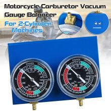 2pcs Motorcycle carburetor vacuum gauge Universal Motorcycle Carburetor Carb Vacuum Gauge Balancer Synchronizer For Yamaha/Honda 40mm pd40j 4 stroke motorcycle carburetor vacuum carburetor case atv quad carb for polaris scrambler 500 4x4 sportsman 500 worke