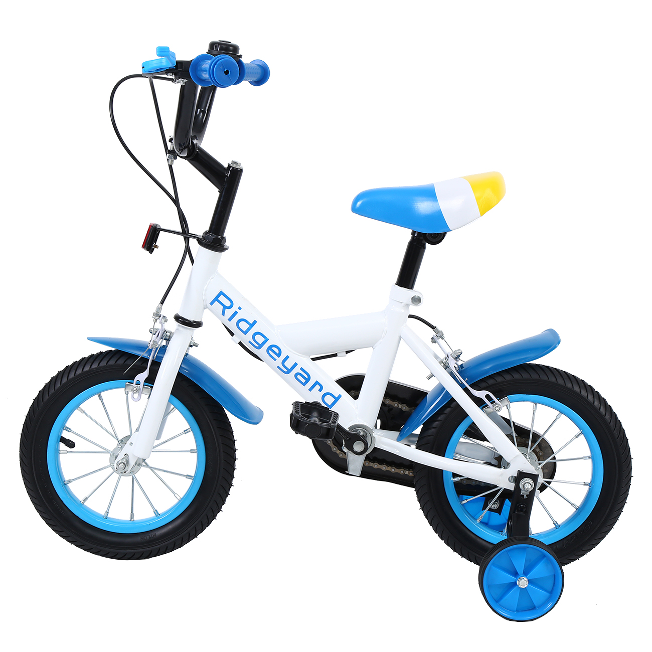 Yonntech  12 Inch Boys Girls Kids Bike Child Bicycle Age 1-5 Years W/ Training Wheel