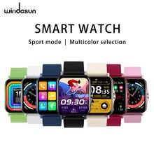 Windasun zw23 grande-tela multi-função relógio inteligente para homem e mulher, bluetooth 4.0 pode ser conectado a vários modos de esportes