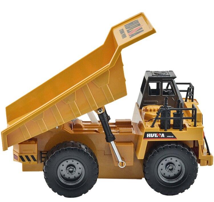 Rc caminhão de engenharia de liga super