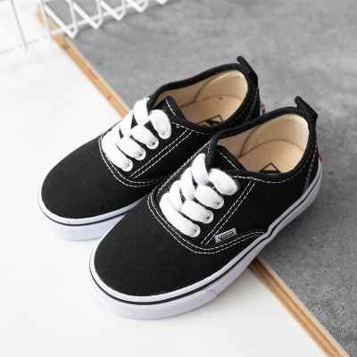 Kids Shoes 2021 Spring Autumn Children Casual Shoes Boys Girls Canvas Shoes Soft Comfortable Slip-on Sneakers Size 20-38 1-12T