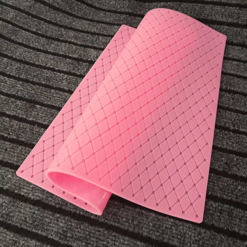 Grids Diamond Lace Cake Silicone Mold Fondant Mousse Sugar Craft Icing Mat Pad Cake Decoration Tool Pastry Baking Tools K486