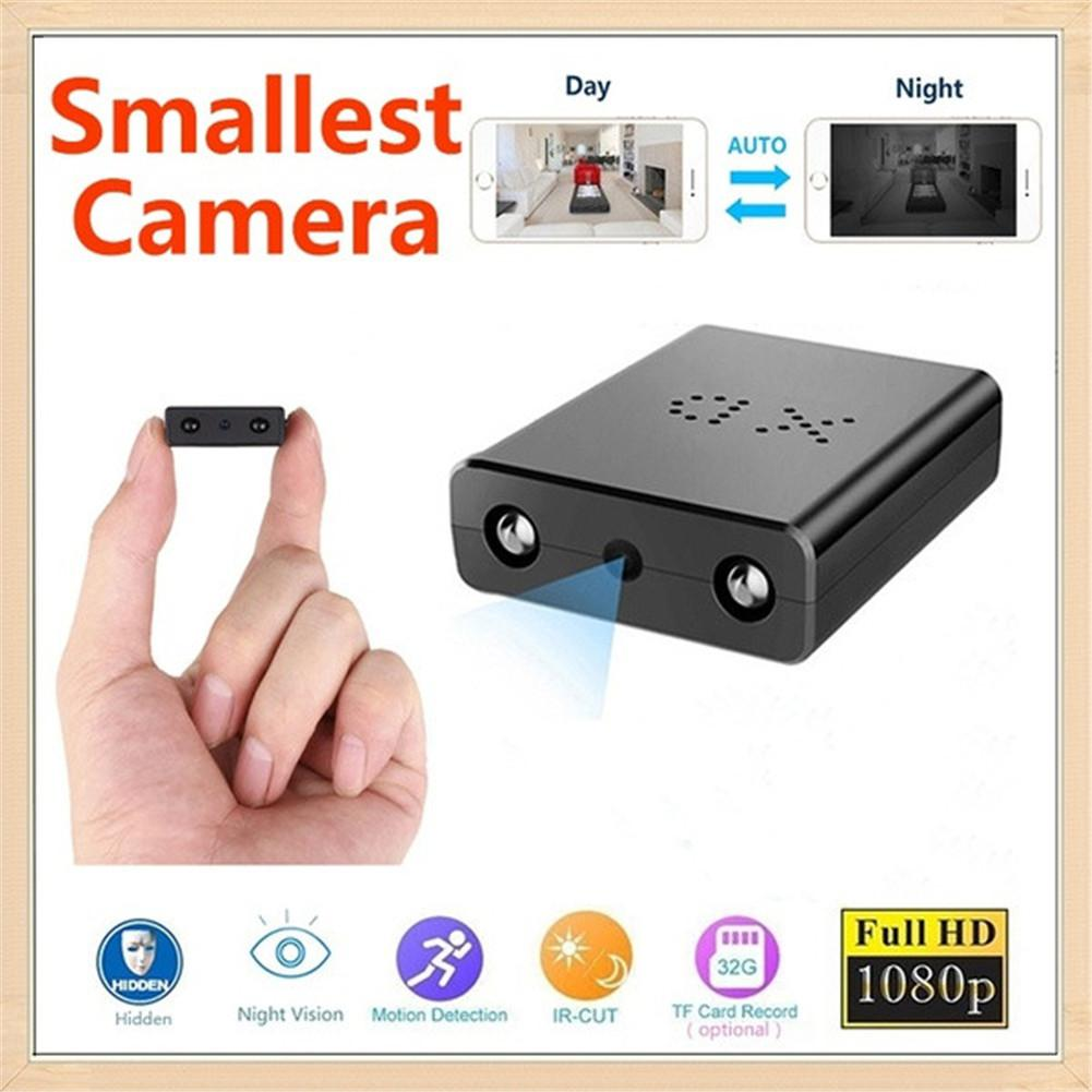 Mini WIFI HD 1080P SPY DVR Hidden Camera Adapter Plug IR Lamp Video Recorder Cam