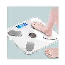 Электронные весы для взвешивания человеческого тела, точные домашние весы с солнечной зарядкой для человеческого тела, умные весы для измерения жира
