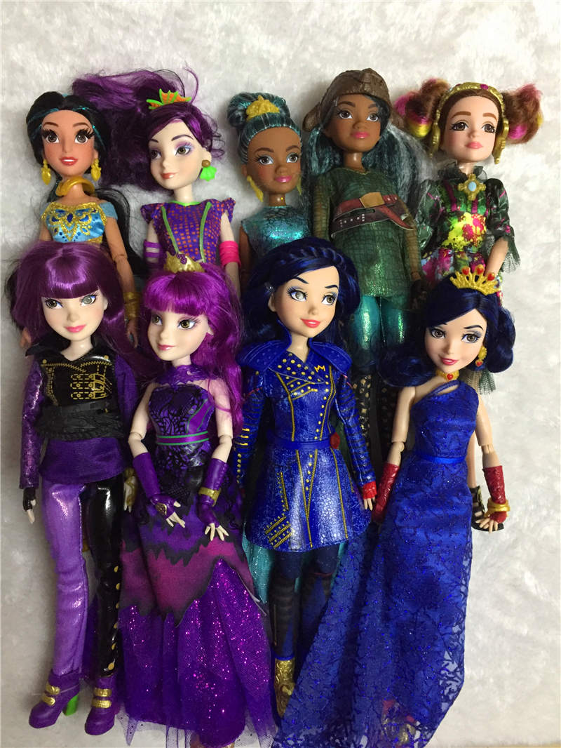 Original High Quality Descendants 2 Dolls Fashion New Joints Cartoon Model Figure Toy For Girls Gift Classic Toys Evie