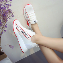 New Women Vulcanized Shoes Fashion Round Head Lace Up Low He